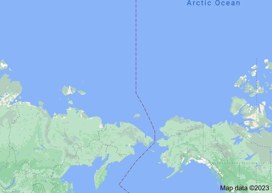 Location of Arctic