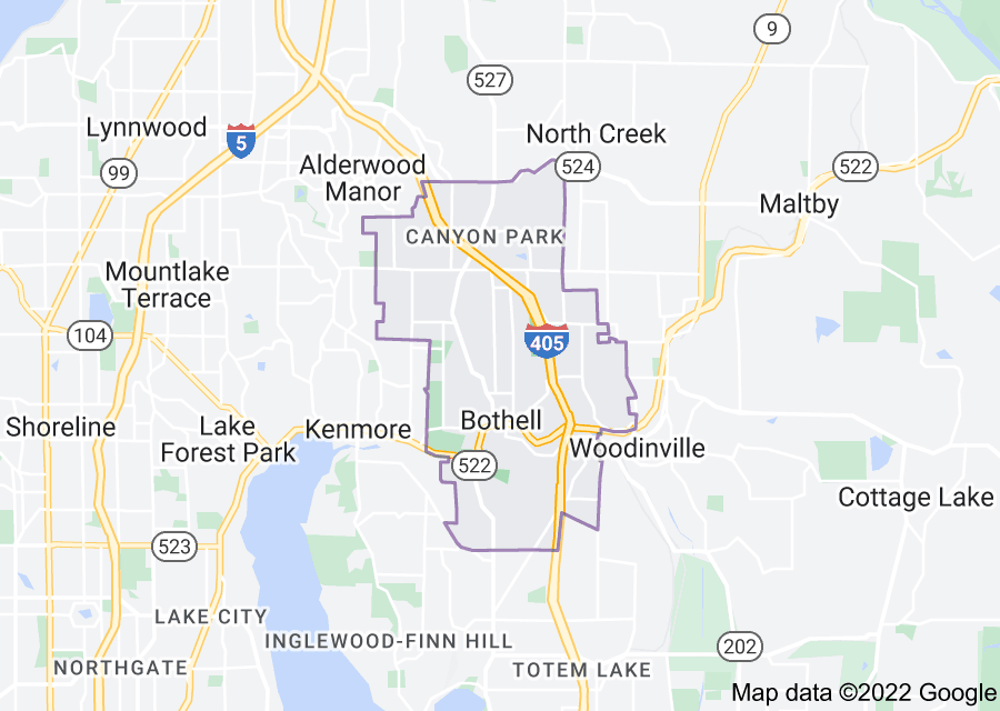 Location of Bothell