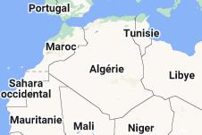 Location of Algérie