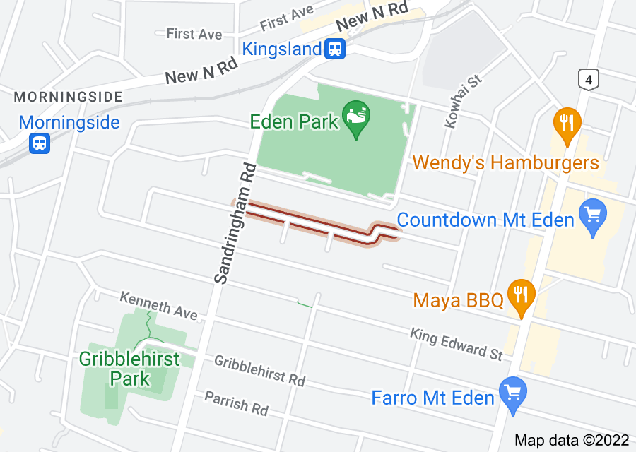 Location of Royal Terrace
