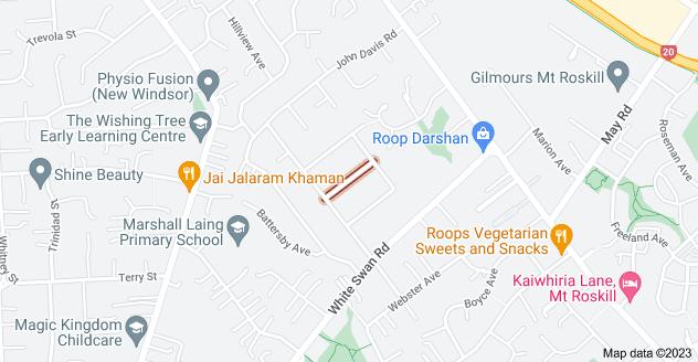 Location of Parfitt Street
