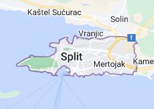 Kaart van Split