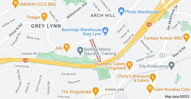 Location of Cooper Street