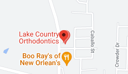 Map for Lake Country Orthodontics