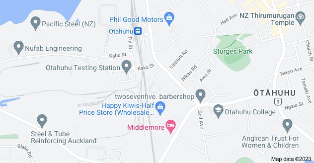 Location of McGee Street