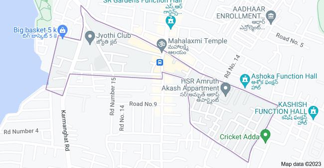Map of Lingojiguda, Telangana 500035, India