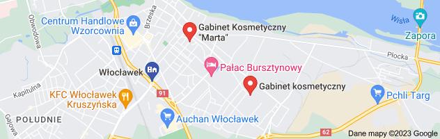 Mapa: salon marta włocławek