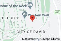 Location of Al-Aqsa Mosque