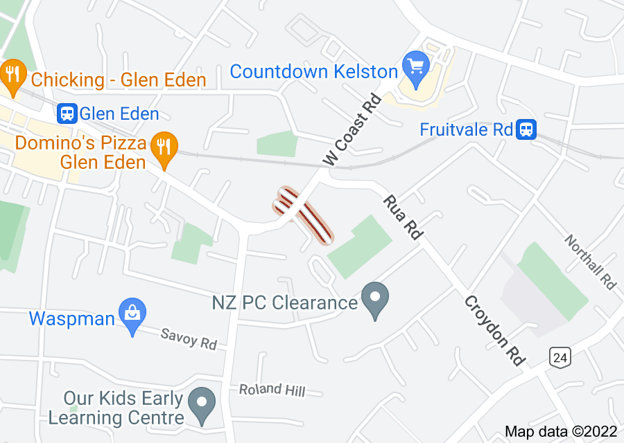 Location of Brian Berg Place