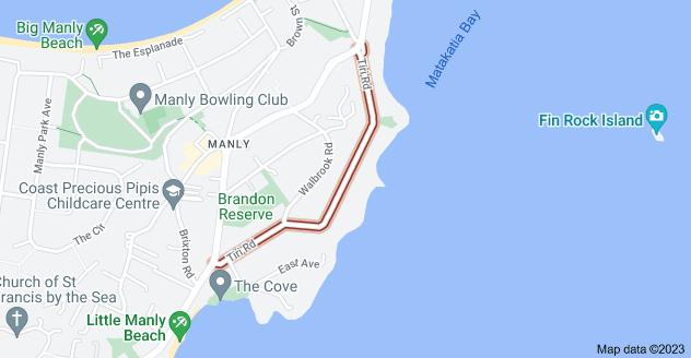 Location of Tiri Road