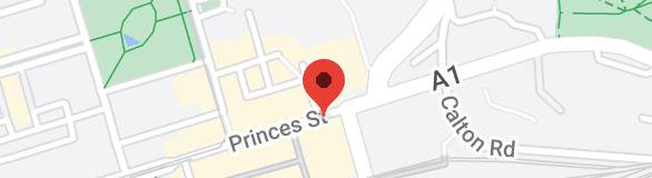 Map of The Balmoral, Edinburgh
