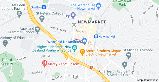 Location of Morrow Street