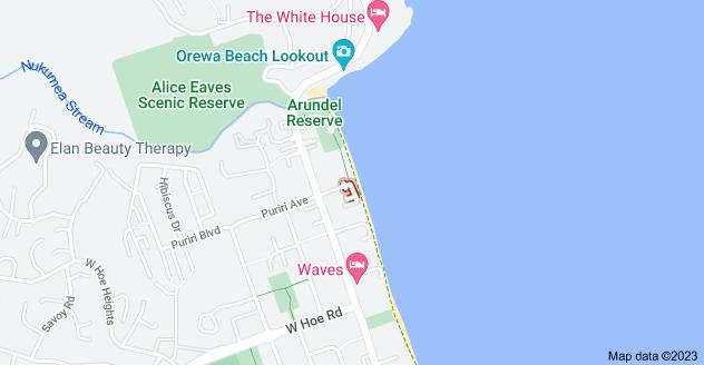 Location of Marine Parade