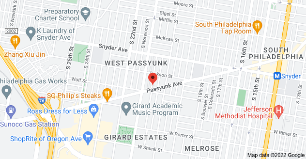 Map of 2243 S Lambert St, Philadelphia, PA 19145