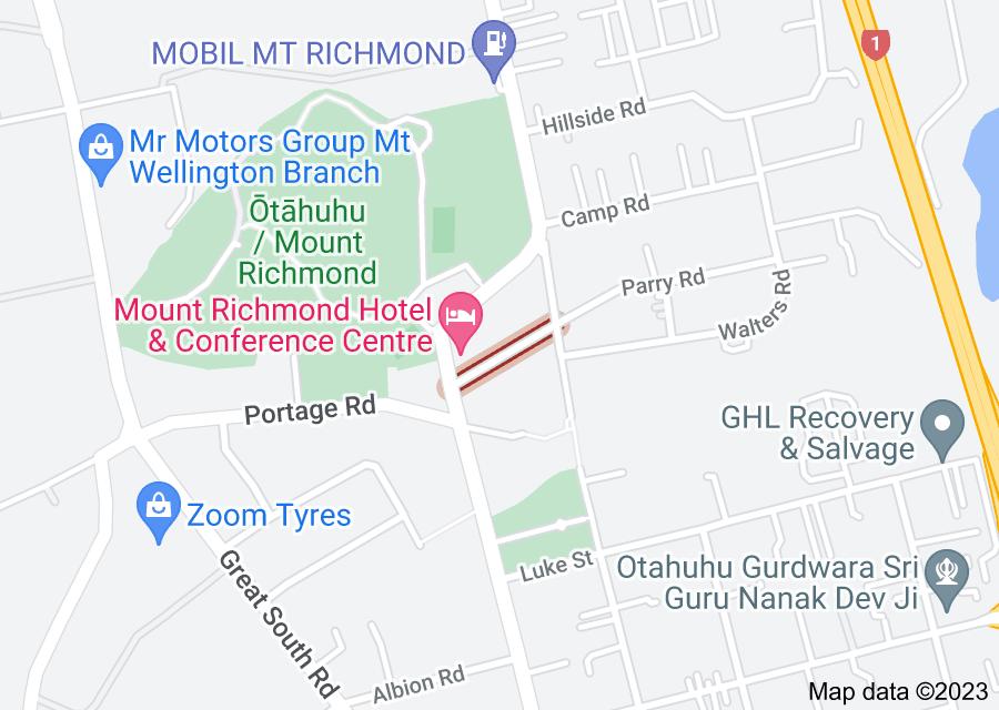 Location of New Brighton Road