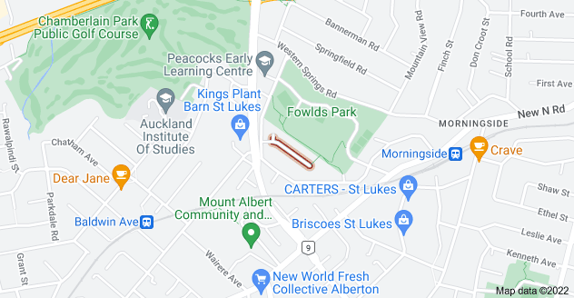 Location of Brewster Avenue