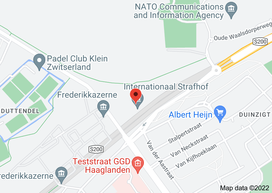 Location of International Criminal Court