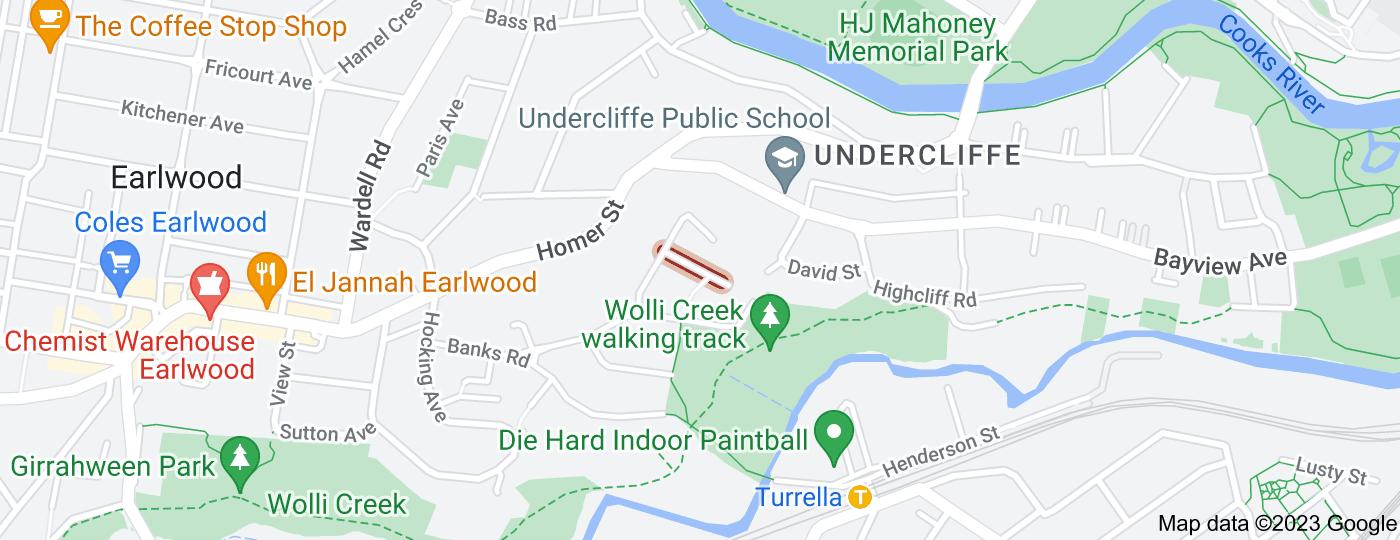 Location of Pembrew Crescent