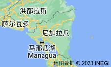 Location of 尼加拉瓜