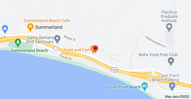 Map of 2594 Lillie Ave, Summerland, CA 93067