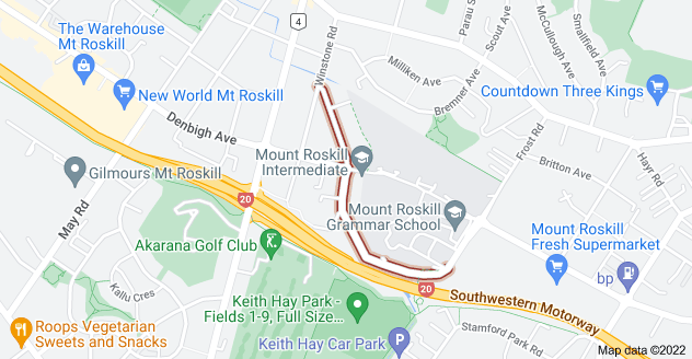 Location of Somerset Road