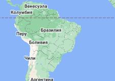 Location of Бразилия