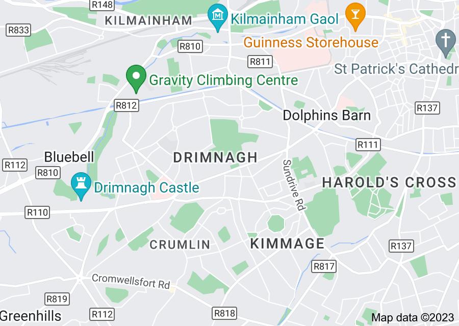 Location of Drimnagh