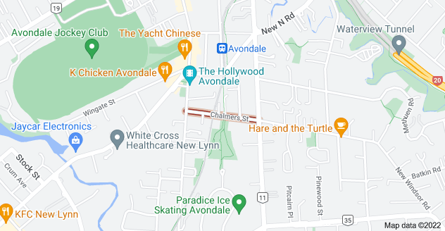 Location of Chalmers Street