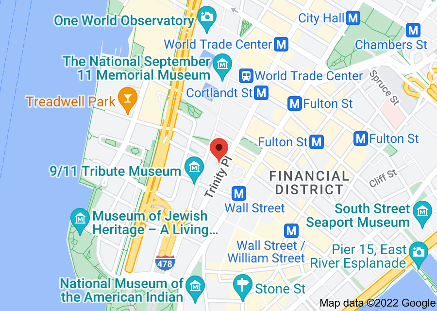 Location of American Stock Exchange