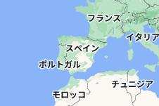 Location of スペイン