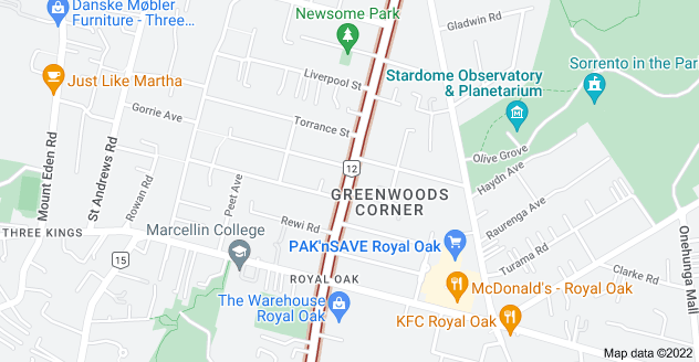 Location of Pah Road