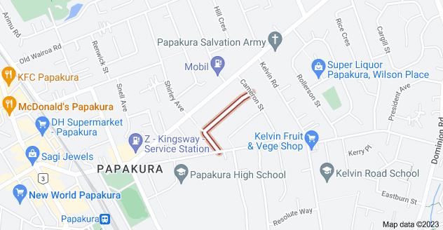 Location of Edmund Hillary Avenue