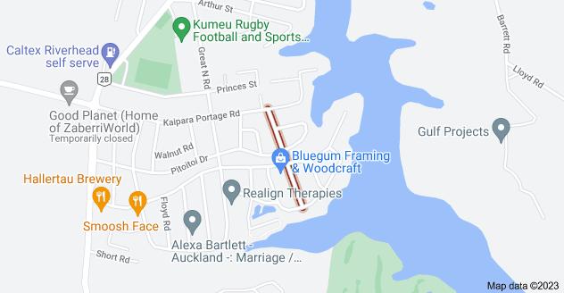 Location of Dinning Road