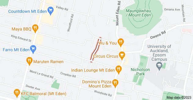 Location of Ashton Road