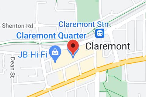 Map of Claremont Quarter