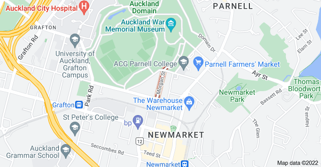 Location of Morgan Street