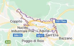 Mappa di: L'Aquila