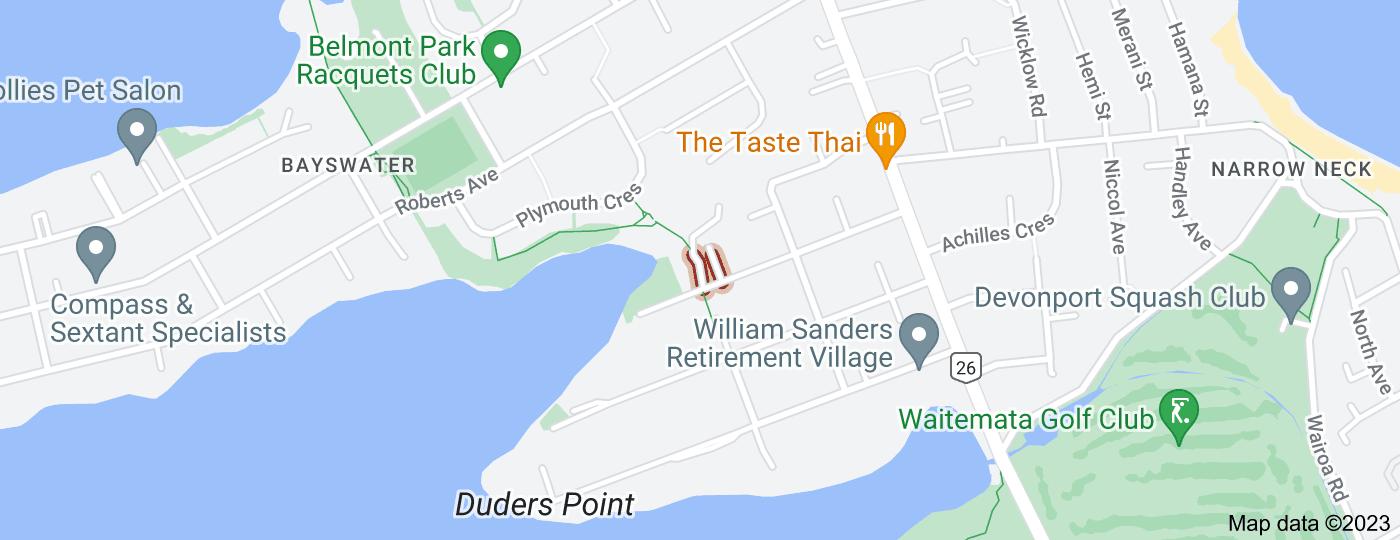 Location of Merwood Lane
