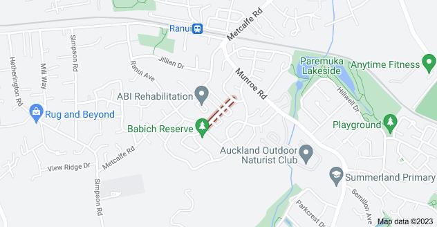 Location of Millcroft Lane