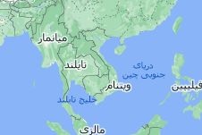 Location of ویتنام