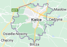 Location of Kielce