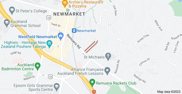 Location of Belmont Terrace