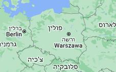 Location of פולין