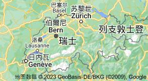 Location of 瑞士