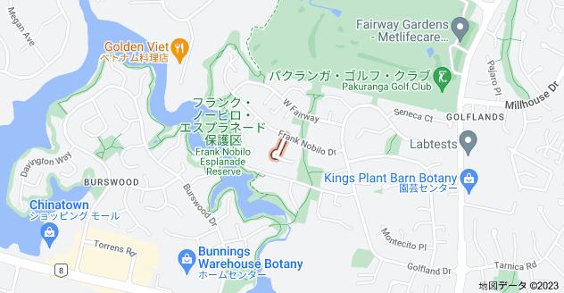 Location of ジャン・ヒギンズ・プレイス