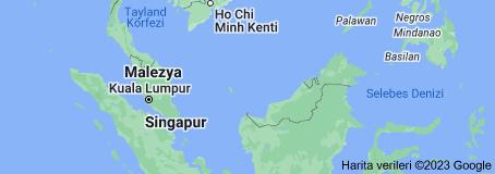 Malezya haritası