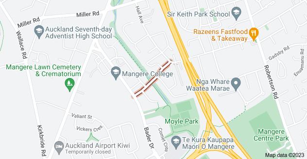 Location of Elmdon Street