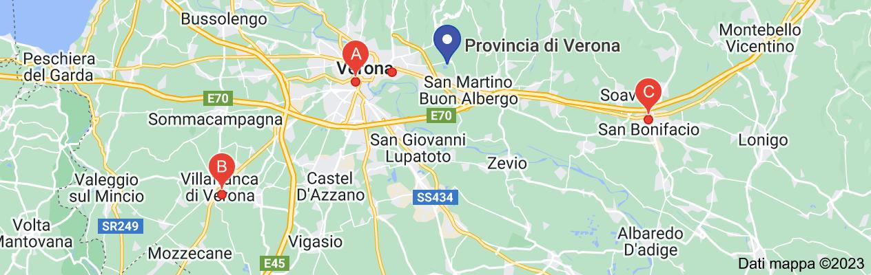 Mappa di: stazione di verona