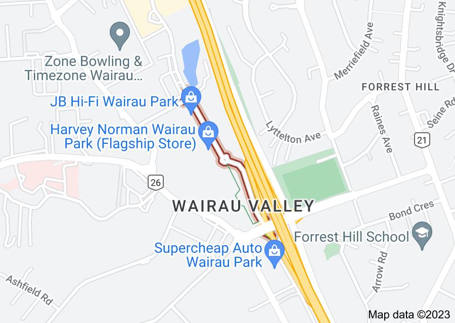 Location of Croftfield Lane