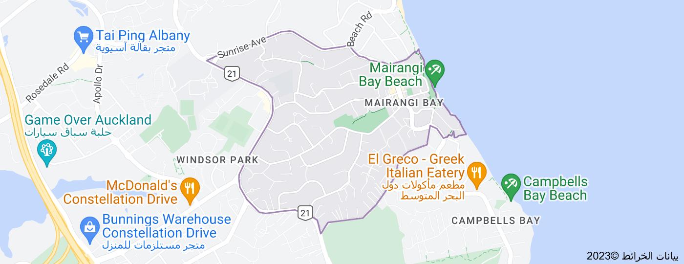 Location of مارانجي باي